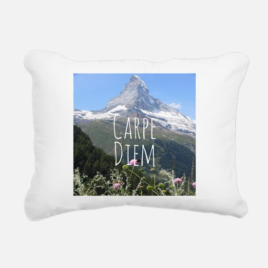 Carpe Diem - Climb a Mountain Rectangular Canvas P
