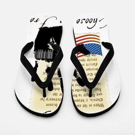 Historic America(2) Flip Flops