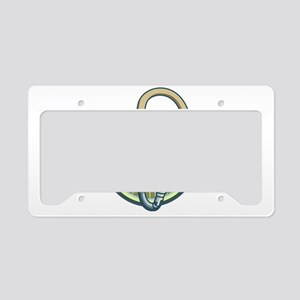 Line Render License Plate Holder
