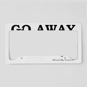 awaysober License Plate Holder