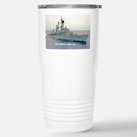 preble ddg sticker Stainless Steel Travel Mug