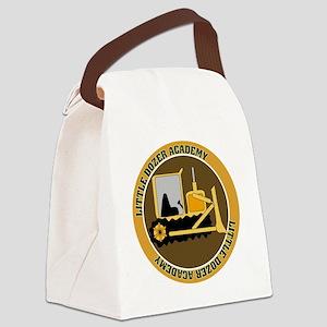 Little Dozer Academy Canvas Lunch Bag