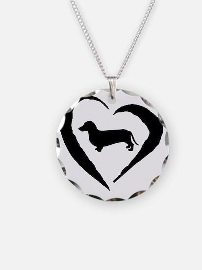 Wiener2 Heart Necklace