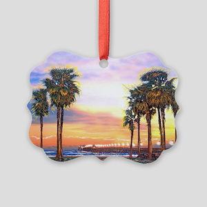 Imperial Beach Peir Lp Picture Ornament