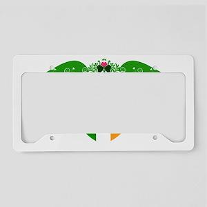 IrishPrincessCrest2 License Plate Holder