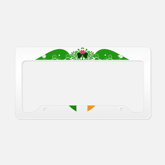 IrishPrincessCrest2 License Plate Holder