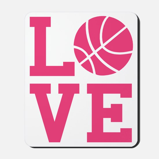 love-basketball Mousepad