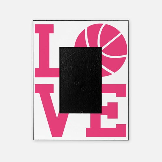love-basketball Picture Frame