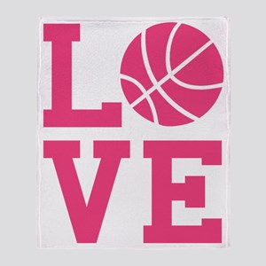 love-basketball Throw Blanket