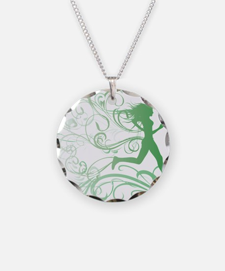 green_runner_girl Necklace
