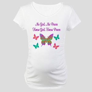PRAISE GOD Maternity T-Shirt