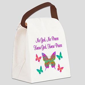 PRAISE GOD Canvas Lunch Bag