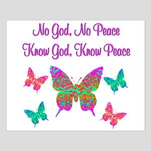 PRAISE GOD Small Poster