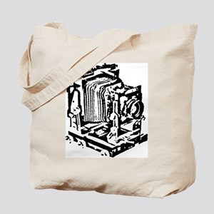 Ebony Large Format Camera Tote Bag
