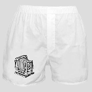 Ebony Large Format Camera Boxer Shorts