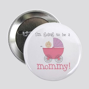 mommy to be (front only) Button