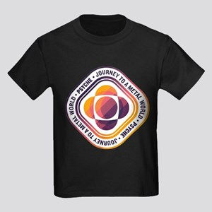 Psyche Mission Logo Kids Dark T-Shirt