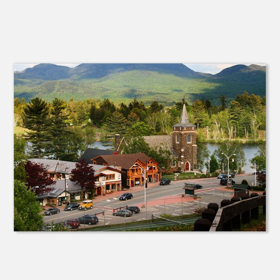 LakePlacidS small poster Postcards (Package of 8)