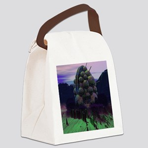 The Alien Machine Canvas Lunch Bag