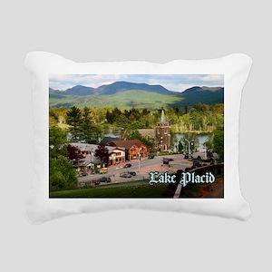 LakePlacidS Postcard Rectangular Canvas Pillow