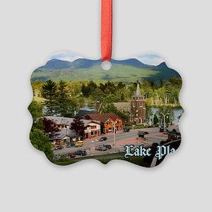LakePlacidS Postcard Picture Ornament