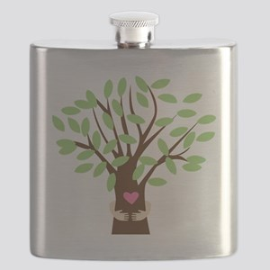 Tree Hugger Flask