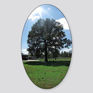 Bright Tree Sticker (Oval)