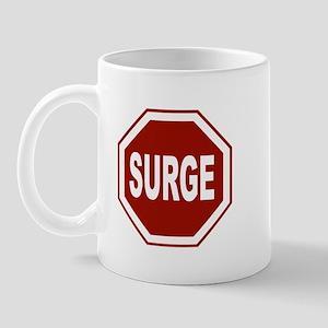 Stop the surge Mug