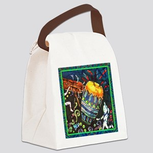 drumscongalighterbordered12x12-su Canvas Lunch Bag