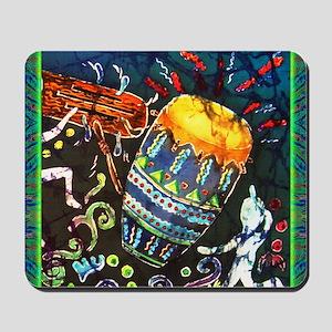 drumscongalighterbordered12x12-sueduda Mousepad
