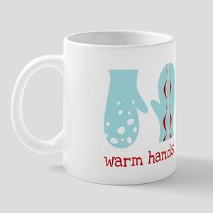 Warm Hands, Warm Heart Mittens Mug