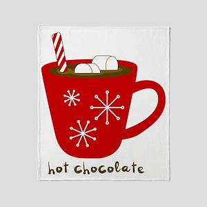 Holiday Hot Chocolate Throw Blanket
