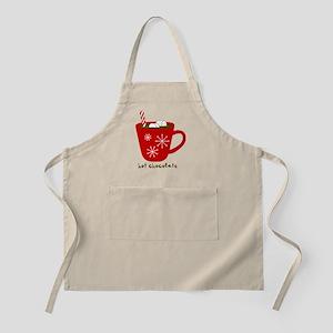 Holiday Hot Chocolate Apron