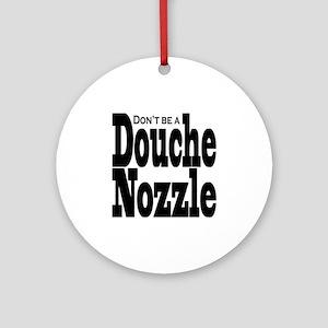 Douche-Nozzle Round Ornament