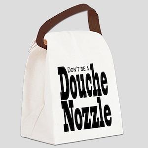 Douche-Nozzle Canvas Lunch Bag