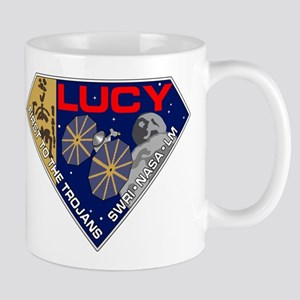 Lucy Mission Logo 11 oz Ceramic Mug