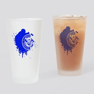 dhssplash Drinking Glass