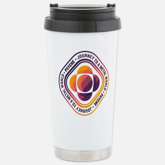 Psyche Mission Logo Stainless Steel Travel Mug