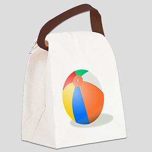 Beachball Canvas Lunch Bag