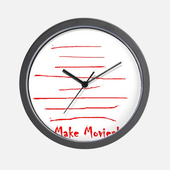 Moviemaker-Tm Wall Clock