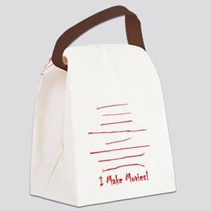 Moviemaker-Tm Canvas Lunch Bag