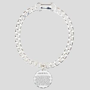 interven Charm Bracelet, One Charm
