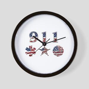 911 Wall Clock