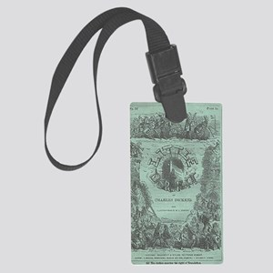Littledorrit_serial_cover Large Luggage Tag