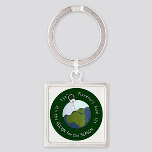 reason-for-the-season-badge-2000 Square Keychain