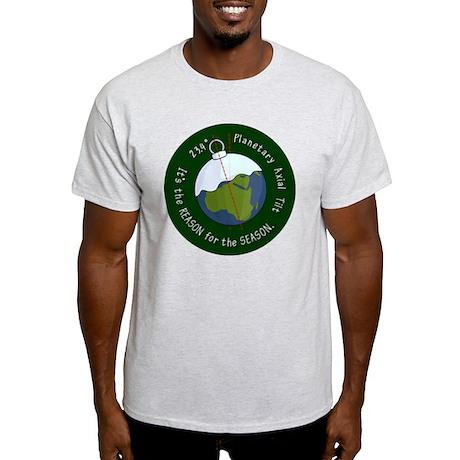 reason-for-the-season-badge-2000 Light T-Shirt