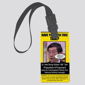 TamSticker Large Luggage Tag