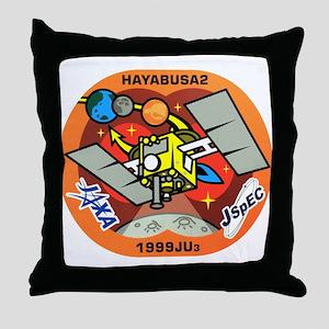 Hayabusa 2 Logo Throw Pillow