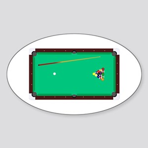 Pool Table Sticker