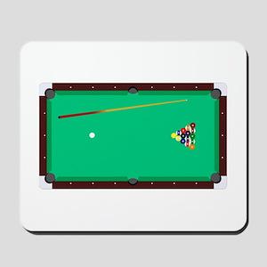 Pool Table Mousepad